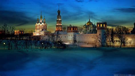 Papier peint couvent Novodevichy. Télécharger gratuitement ...