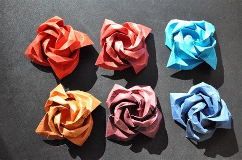Papiroflexia de rosas   Imagui