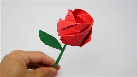 Papiroflexia rosas fáciles   Imagui
