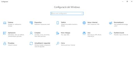 Paquet d experiència local en català for Windows 10 free ...