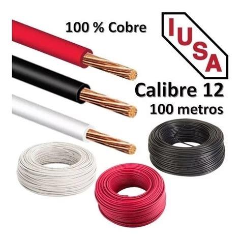 Paquete De Cables Thw Marca Iusa Calibres 10, 12y 14 Awg ...