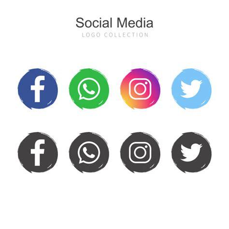 Paquete de logos de redes sociales | Descargar Vectores gratis