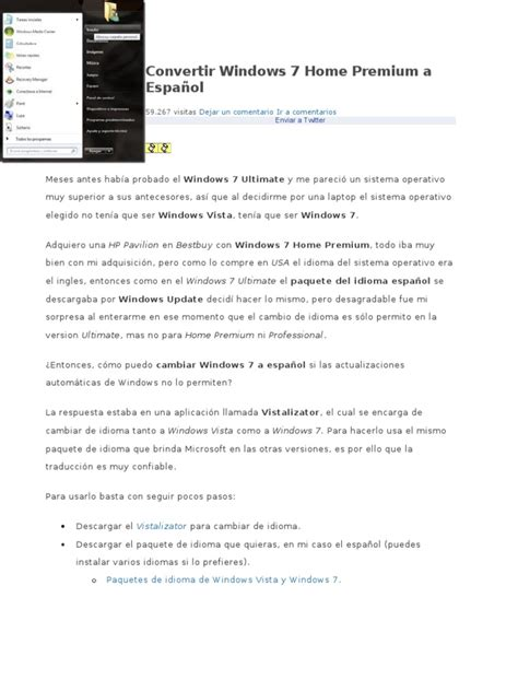 Paquetes De Idiomas Para Windows 7   high powerdesigner