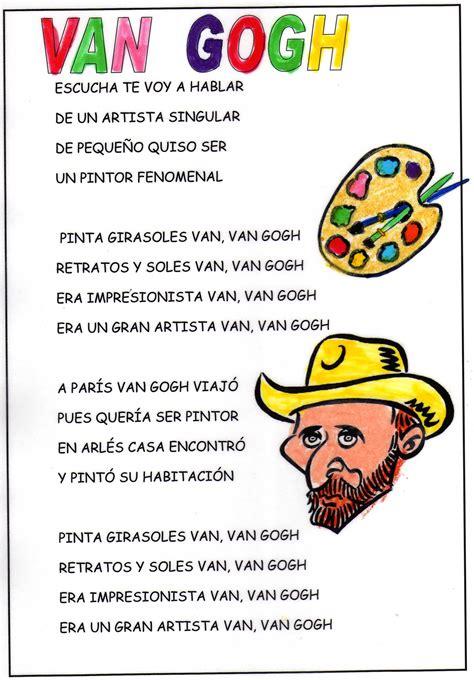 PARA CANTAR EN CASA | Educación | Vincent van gogh, Arte ...