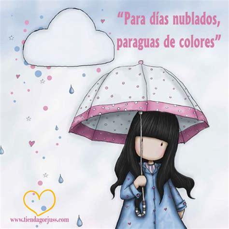 Para días nublados, paraguas de colores  ¡¡Feliz lunes ...