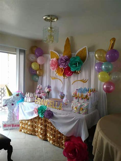 para mi hija | Decoracion unicornio cumpleaños, Decoracion ...