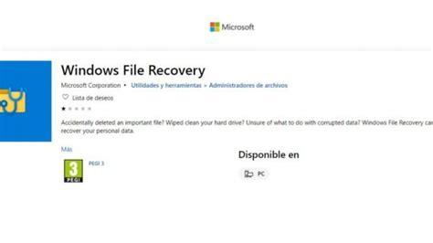 Para recuperar documentos borrados en Windows, nueva ...