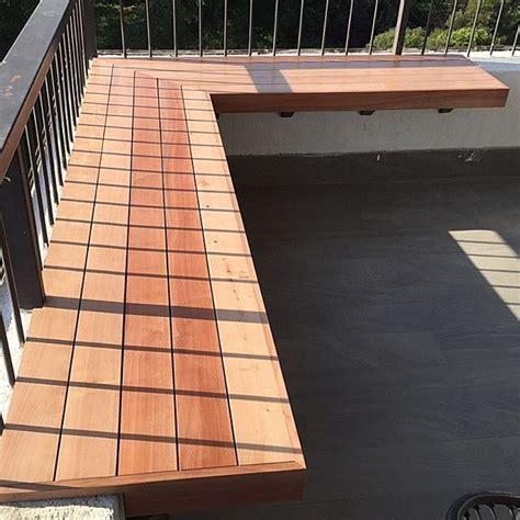 Para tu terraza una banca en madera noble. www.mariomillar ...