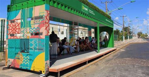 Paradas de autobús con techos verdes   La Verdad Noticias