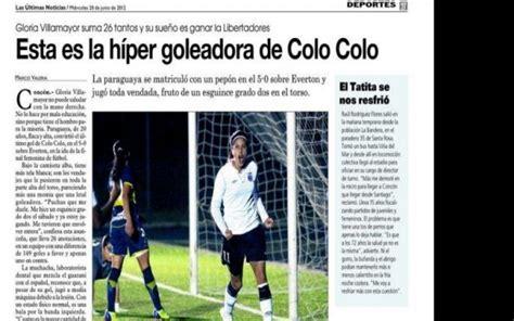 Paraguaya se destaca en el fútbol chileno   Deportes   ABC ...