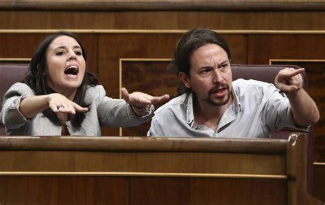 Paranoia en Podemos: Montero e Iglesias ven golpistas a su ...
