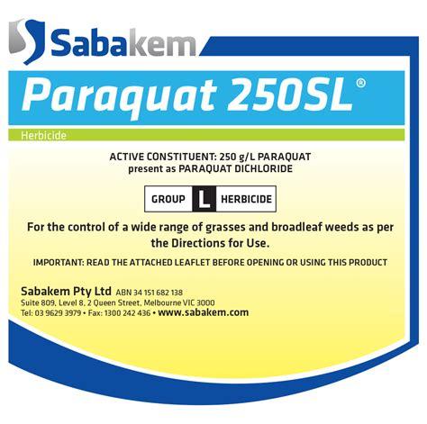 Paraquat 250SL   Sabakem