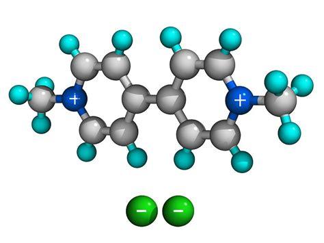 Paraquat Herbicide Molecule Photograph by Laguna Design
