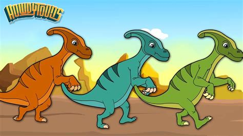 Parasaurolofus   Canciones de Dinosaurios para Niños ...