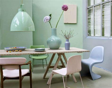 Pared verde menta pasteles | pintura pared cocina | Diseño ...