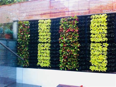 Pared Verde Muro Verde Jardín Vertical Natural Geotextil ...