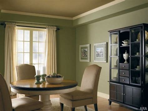 Paredes de color verde seco …   Decoracion de interiores ...