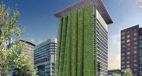 Paredes verdes reducen la contaminación del aire en las ...