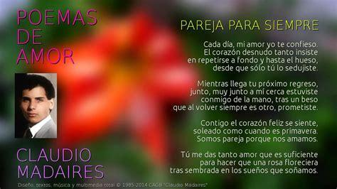 Pareja para siempre   Poemas de Amor   Letra de Pareja ...