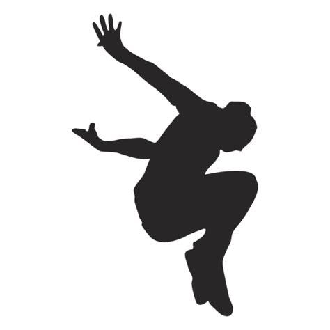 Parkour jumping silhouette 8   Transparent PNG & SVG vector