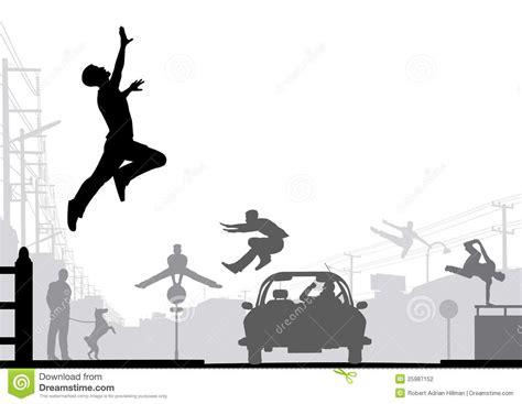 Parkour stock vector. Illustration of design, element ...