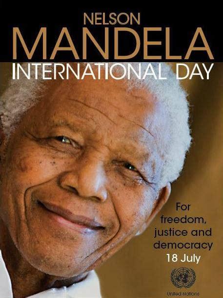 PARMIONOVA: Nelson Mandela International Day, July 18