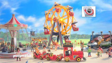 Parque de Atracciones de Playmobil   YouTube