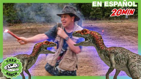 Parque de T Rex | Ruta de escape para dinosaurios!   YouTube