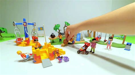 Parque Infantil Playmobil City Life 5024   YouTube