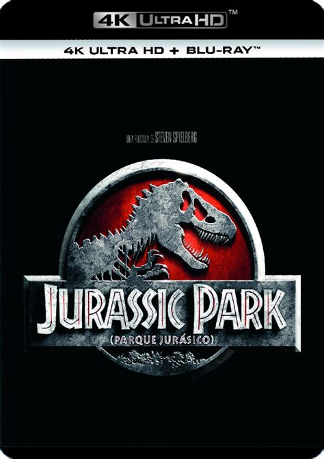 PARQUE JURASICO 1   4K UHD + BLU RAY   de Steven Spielberg ...