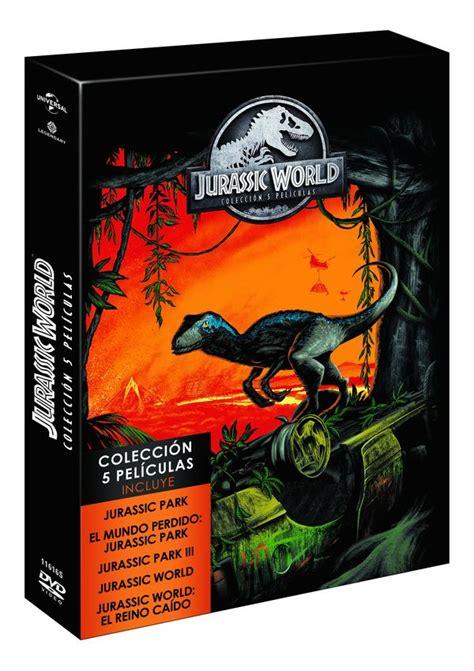 PARQUE JURASICO 1 5   DVD   de Steven Spielberg ...