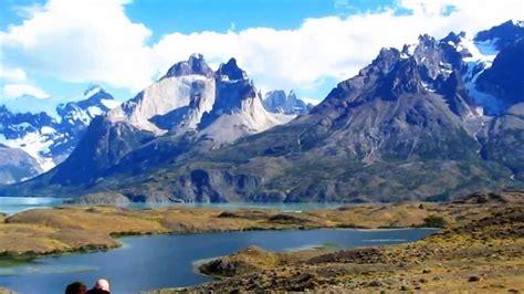 Parque Nacional Torres Del Paine Chile landscape ...