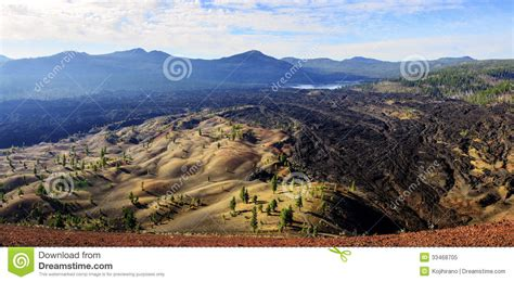 Parque Nacional Volcánico De Lassen Foto de archivo libre ...