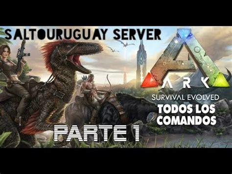 PARTE 1 Comandos de admin para ARK PC, PS4, Xbox ADMIN ...