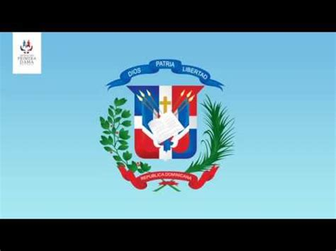 Partes del escudo dominicano   YouTube