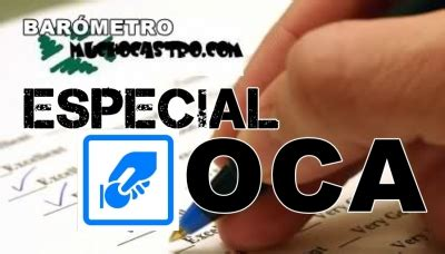 Participa en el Barómetro MUCHOCASTRO  Especial OCA