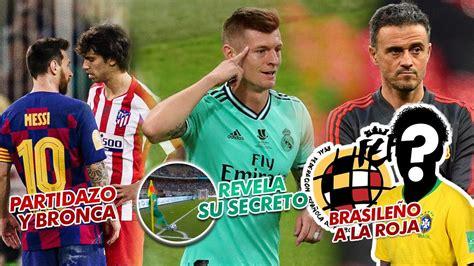 Partidazo y bronca entre Joao Félix y Messi/Kroos revela ...