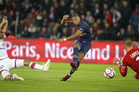 Partido PSG vs Lyon, Ligue 1. Kylian Mbappé