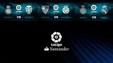 Partidos de La Liga Santander hoy domingo 26 de agosto