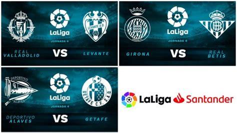Partidos de la Liga Santander hoy, jueves 27 de septiembre