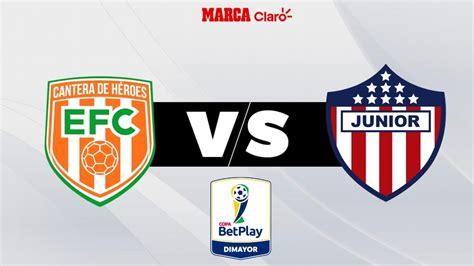 Partidos Hoy: Envigado vs Atlético Junior, en vivo ...