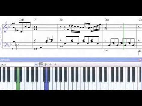 Partitura Piano Unicornio Azul   Silvio Rodriguez   demo ...