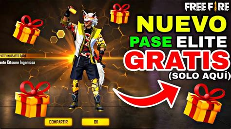 Pase élite GRATIS 2020 en Free Fire Battleground   AppFreeKO