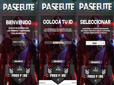 PASE ÉLITE GRATIS 2020 PARA FREE FIRE   ☛ INFINITY GAMERS