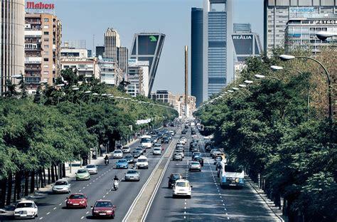 Paseo de La Castellana | Ciudad fotografía, España, Madrid ...