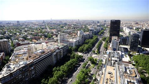 Paseo de la Castellana, la columna vertebral de la ciudad ...