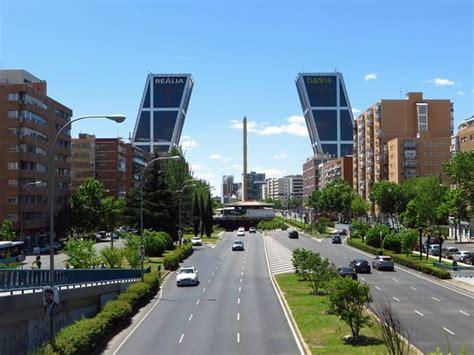 Paseo de la Castellana  Madrid    Lo que se debe saber ...