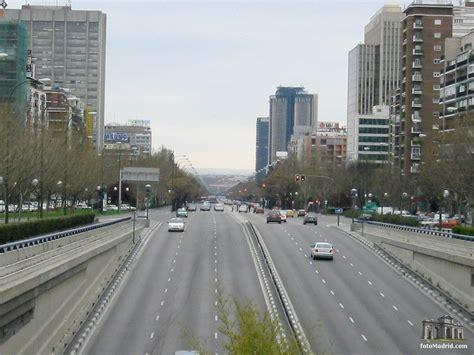Paseo de la Castellana Plaza Castilla