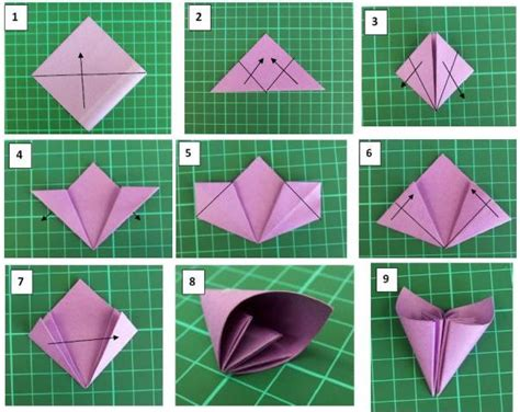 Pasos para hacer una rosa de papel   Imagui