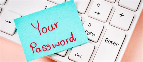 Password Security: 4 Ways to Keep Passwords Away from the ...